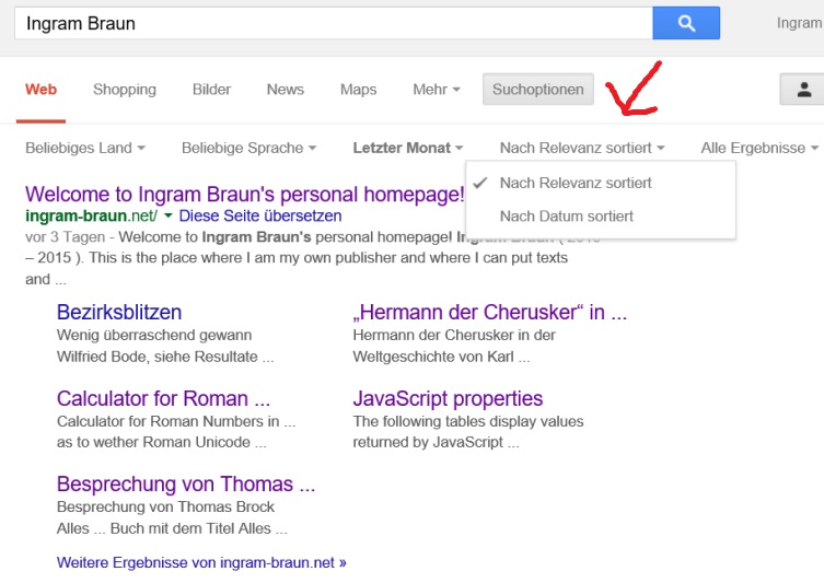 Google Suche Nach Datum
