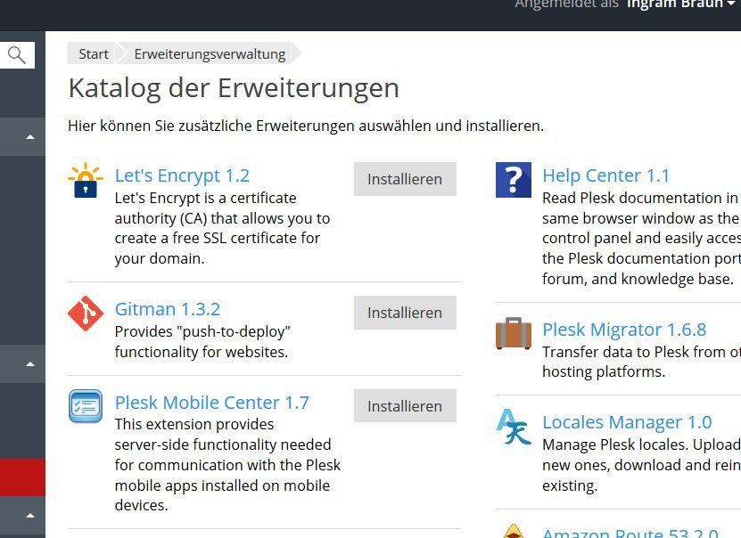 Kostenlose TLS-Zertifikate in Plesk: Let's Encrypt statt StartSSL 1