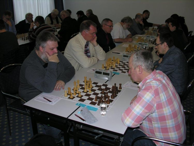 Vorrunde der Deutschen Schachamateurmeisterschaft in Kassel 2018 1