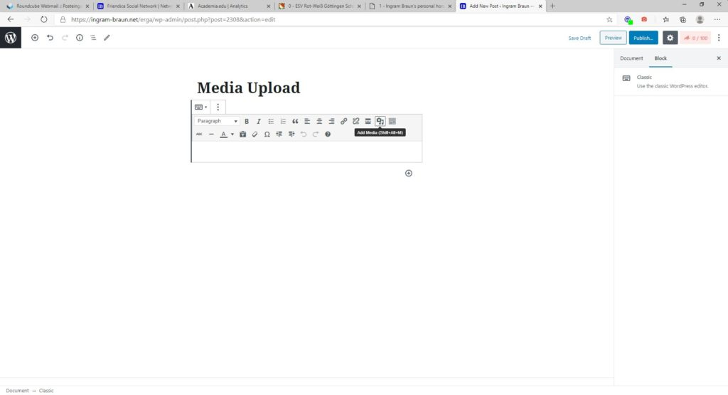 How to date back media uploads in WordPress? 3