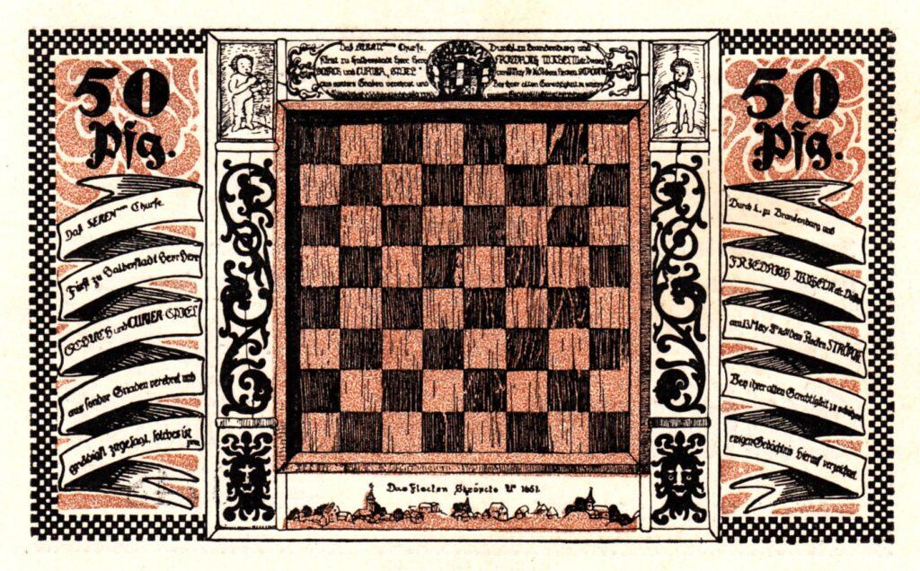 Notgeld Ströbeck 50 Pfennige 1921