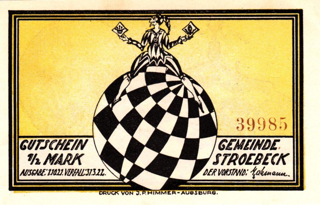 Notgeld Ströbeck ½ Mark 1922